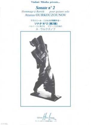 Sonate n° 2 - Atanas Ourkouzounov - Partition - laflutedepan.com