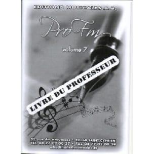Pro FM Vol 7 - Fascicule Professeur - Partition - laflutedepan.com