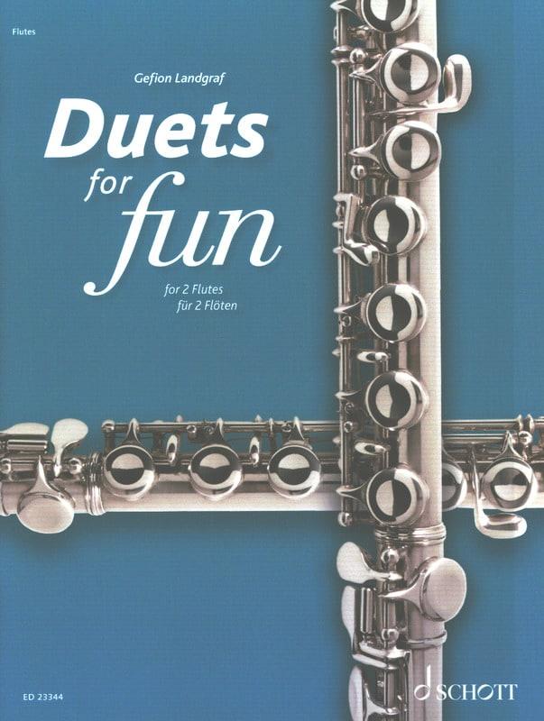 Duets for Fun - 2 Flûtes - compositeurs Divers - laflutedepan.com