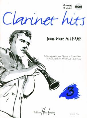 Clarinet Hits Volume 3 - Livre Jean-Marc Allerme laflutedepan