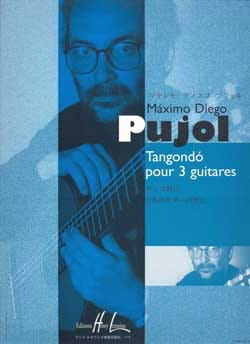 Tangondo pour 3 guitares Maximo Diego Pujol Partition laflutedepan