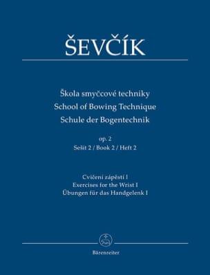 School of bowing technique, op. 2 Vol. 2 Otakar Sevcik laflutedepan