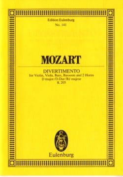 Divertimento Nr. 7 D-Dur - MOZART - Partition - laflutedepan.com