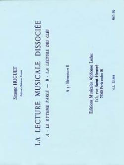 Lecture musicale dissociée - A3 - Elém. 2 Simone Huguet laflutedepan