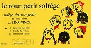 Le Tout Petit Solfège Volume 1 Lina Vinck Partition laflutedepan