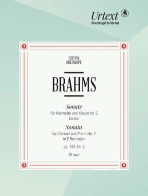 Sonate N° 2 Es-Dur Op. 120/2 - Klarinette Klavier BRAHMS laflutedepan