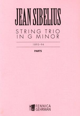 String Trio G minor - Parts SIBELIUS Partition Trios - laflutedepan