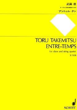 Entre-Temps - Oboe And String Quartet - Score + Parts laflutedepan
