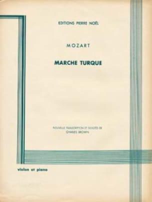 Marche turque - Violon - MOZART - Partition - laflutedepan.com