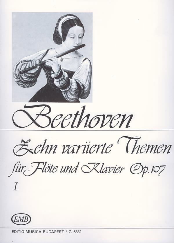 10 Variierte Themen, op. 107 Volume 1 -Flöte Klavier - laflutedepan.com