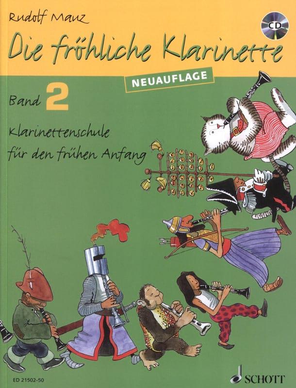 Die fröhliche Klarinette - Bd. 2 Mit CD - laflutedepan.com
