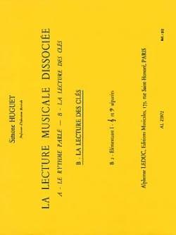 Lecture musicale dissociée - B2 - Elém. 1 Simone Huguet laflutedepan