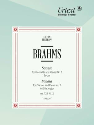 BRAHMS - Sonata No. 2 Es-dur, op. 120 n ° 2 - Partition - di-arezzo.com