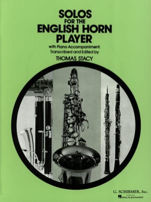 Solos for the english horn player Thomas Stacy Partition laflutedepan