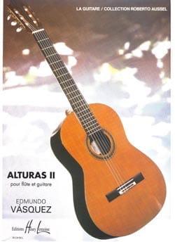 Alturas 2 - Edmundo Vasquez - Partition - laflutedepan.com