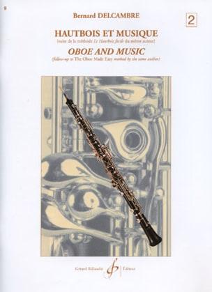 Hautbois et musique - Volume 2 Bernard Delcambre laflutedepan