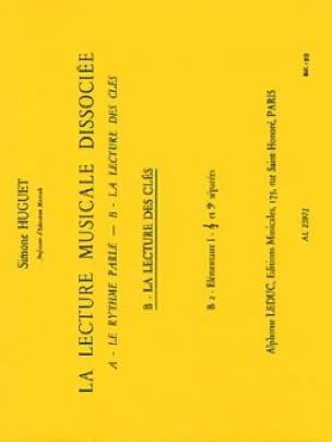 Lecture musicale dissociée - B2 - Elém. 1 - laflutedepan.com