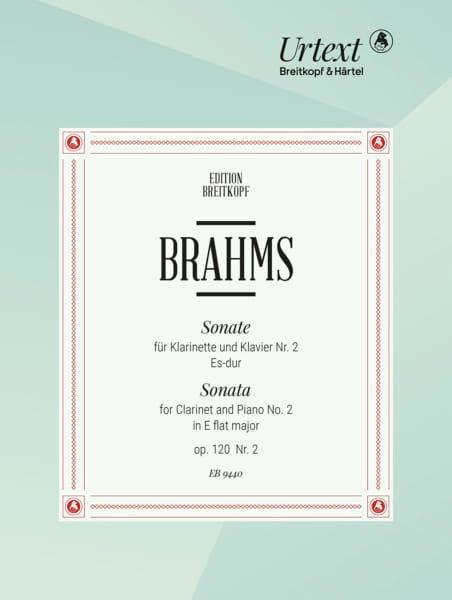Sonate n° 2 Es-dur, op. 120 n° 2 - BRAHMS - laflutedepan.com
