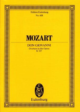 Don Giovanni, Ouvertüre KV 527 - Partitur MOZART laflutedepan