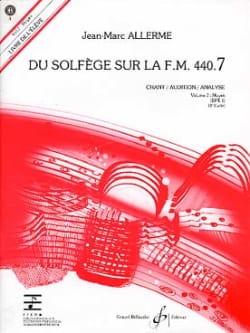 du Solfège sur la FM 440.7 - Chant Audition Analyse avec CD laflutedepan