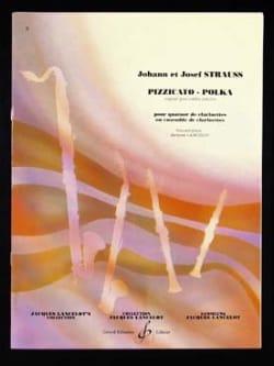 Pizzicato-Polka - quatuor clarinettes laflutedepan