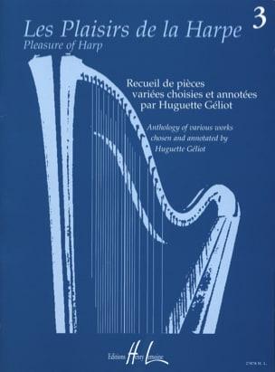 Les Plaisirs de la Harpe Volume 3 Partition Harpe - laflutedepan