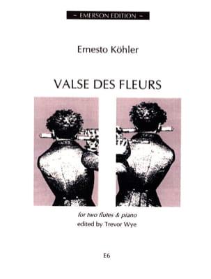 Valse des Fleurs -2 Flutes Piano Ernesto KÖHLER laflutedepan