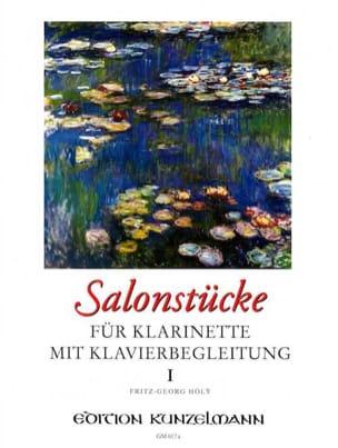 Salonstücke Heft 1 -Klarinette Klavier Fritz-Georg Hölÿ laflutedepan