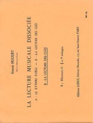 Lecture musicale dissociée - B3 - Elém. 2 - laflutedepan.com