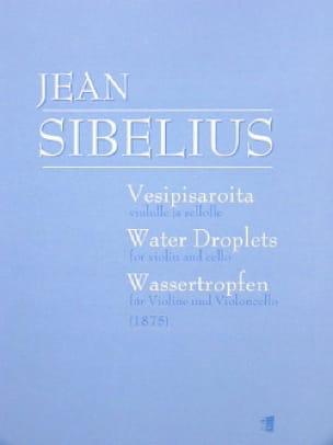 Water Droplets 1875 - SIBELIUS - Partition - 0 - laflutedepan.com