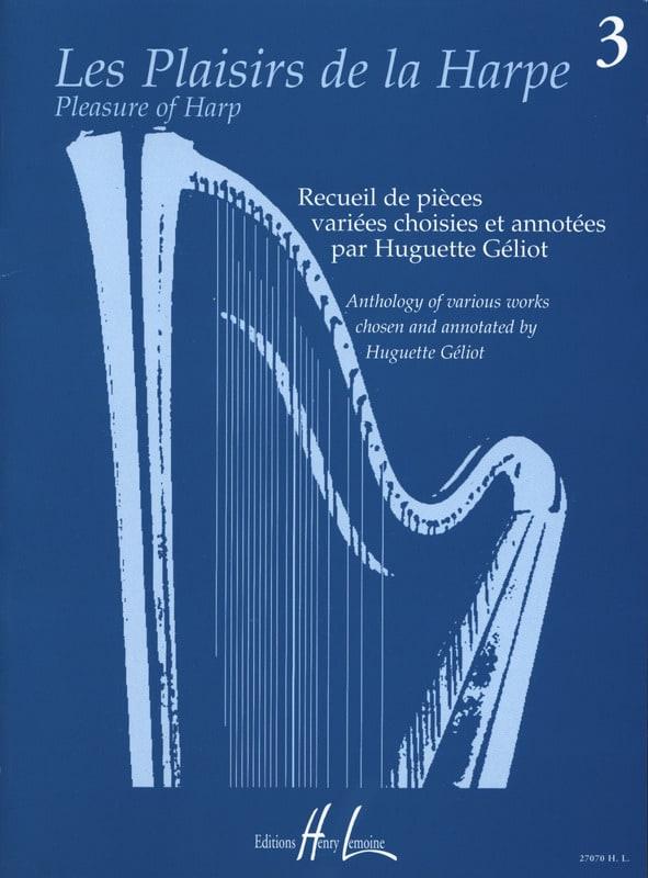 Les Plaisirs de la Harpe Volume 3 - Partition - laflutedepan.com