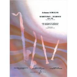 Radetzky-Marsch -Quatuor de clarinettes laflutedepan