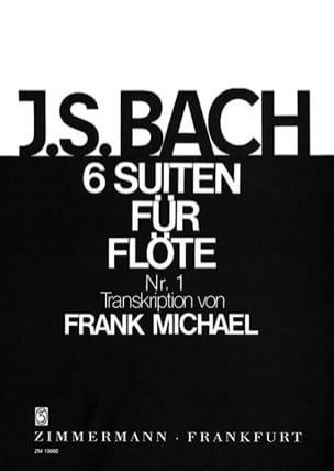 Suite N° 1 en Sol Majeur BWV 1007 Pour Flûte Seule BACH laflutedepan