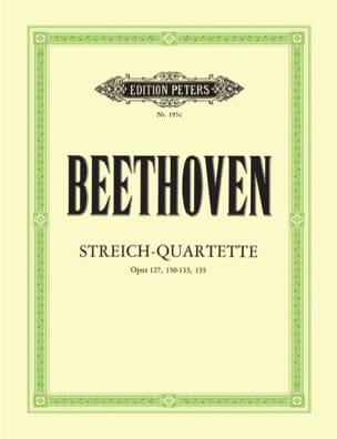 BEETHOVEN - Streichquartette - Bd. 3 instrumental parts - Partition - di-arezzo.com