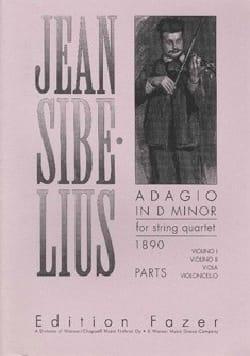 Adagio en ré mineur - Parties séparées - SIBELIUS - laflutedepan.com