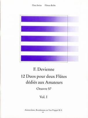 12 Duos dédiés aux amateurs Volume 1 - 2 Flûtes DEVIENNE laflutedepan