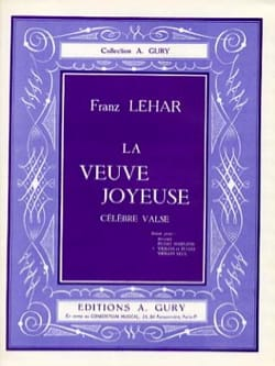 La Veuve Joyeuse LEHAR Partition Violon - laflutedepan