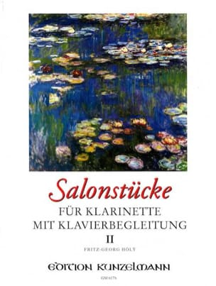 Salonstücke Heft 2 -Klarinette Klavier Fritz-Georg Hölÿ laflutedepan