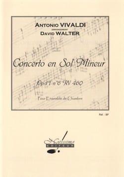 Concerto en sol mineur op 11 n° 6 arr Walter - laflutedepan.com