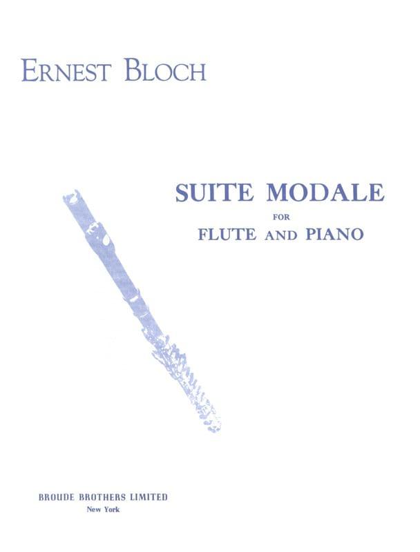 Suite modale - BLOCH - Partition - laflutedepan.com