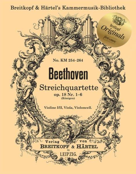 Quatuors op. 127, 130, 131 - BEETHOVEN - Partition - laflutedepan.com