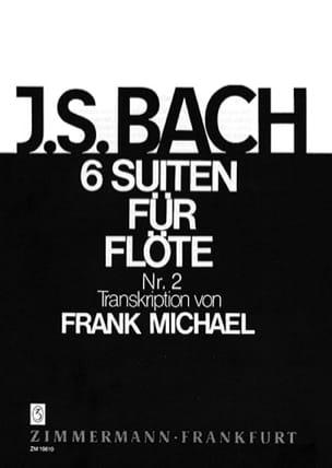 Suite N° 2 BWV 1008 - Pour Flûte Seule 6 Suiten Für Flöte laflutedepan