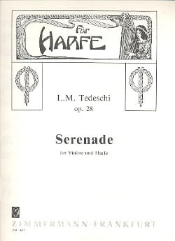 Sérénade op. 28 Luigi Maurizio Tedeschi Partition 0 - laflutedepan