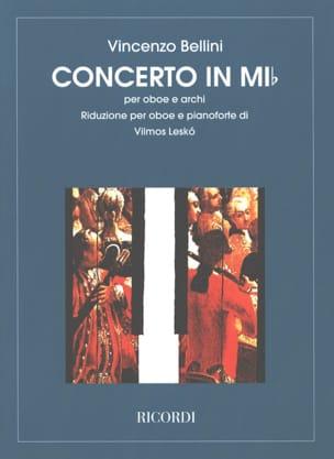 Concerto en mi bemol BELLINI Partition Hautbois - laflutedepan