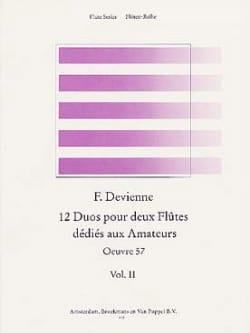 12 Duos dédiés aux amateurs Volume 2 - 2 Flûtes DEVIENNE laflutedepan