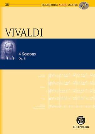 Les 4 Saisons VIVALDI Partition Petit format - laflutedepan