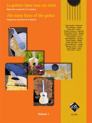 La Guitare dans tous ses Etats Volume 1 Partition laflutedepan