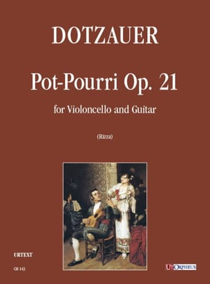 Pot-Pourri Op. 21 pour violoncelle et guitare laflutedepan