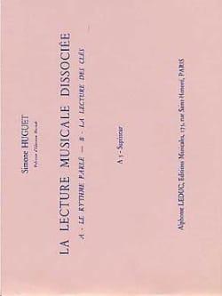 Lecture musicale dissociée - A5 - Supérieur Simone Huguet laflutedepan