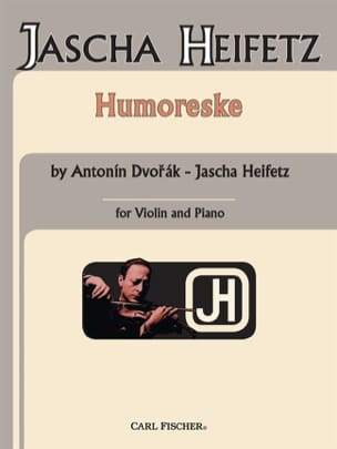 Humoreske op. 101 n° 7 Heifetz DVORAK Partition Violon - laflutedepan
